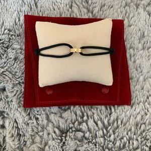 Auth. Cartier 18k Yellow Gold Cord Bracelet ✨